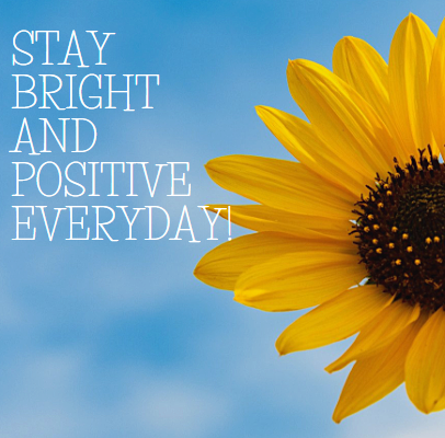 Staying positive everyday in these tough times may not be easy. Here is how you can do it.